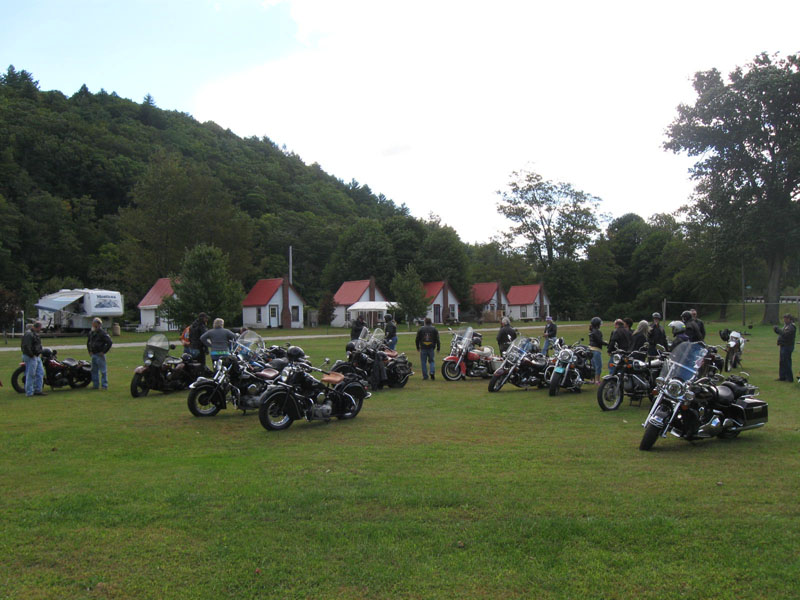 Berkshire camp and ride 2012